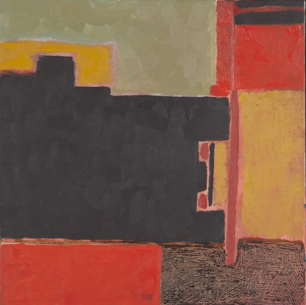 Moscow, recollections of Red Square II (1992) | mixed media – 55x55cm – #7902