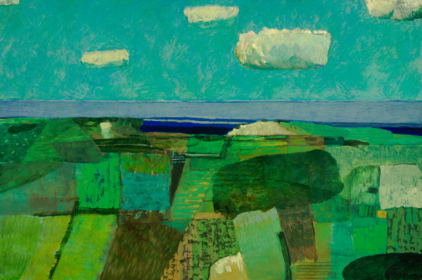 Cornwall – near St Ives (1998) | oil painting – 100x150cm – #79292