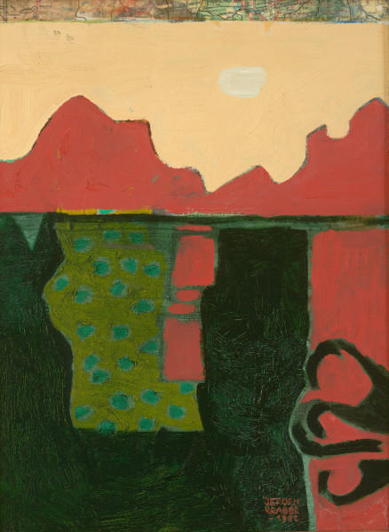 Ranchos de Taos – New Mexico (1992) | mixed media – 40x30cm – #7953