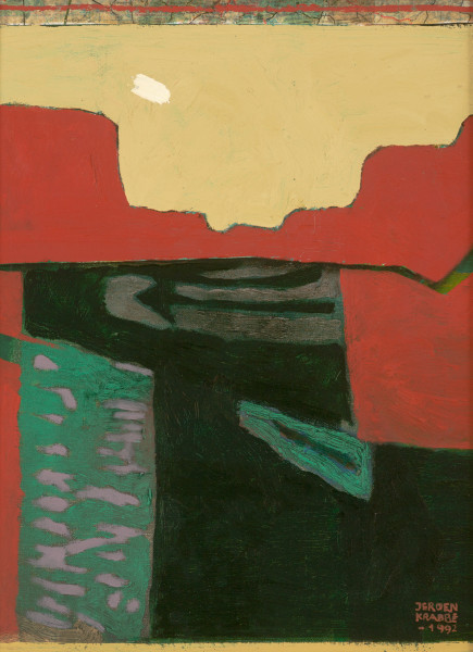 Embudo – New Mexico (1992) | mixed media – 40x30cm – #7954