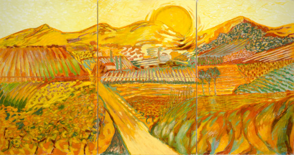 Provence (2013) | oil painting – 80x150cm – #79683